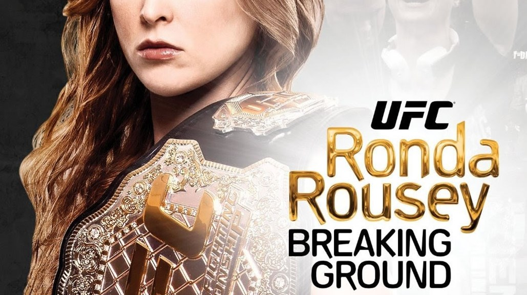 "A. Smith & Co. Productions' ""UFC Presents Ronda Rousey: Breaking Ground"" receives a Sports Emmy® nomination."