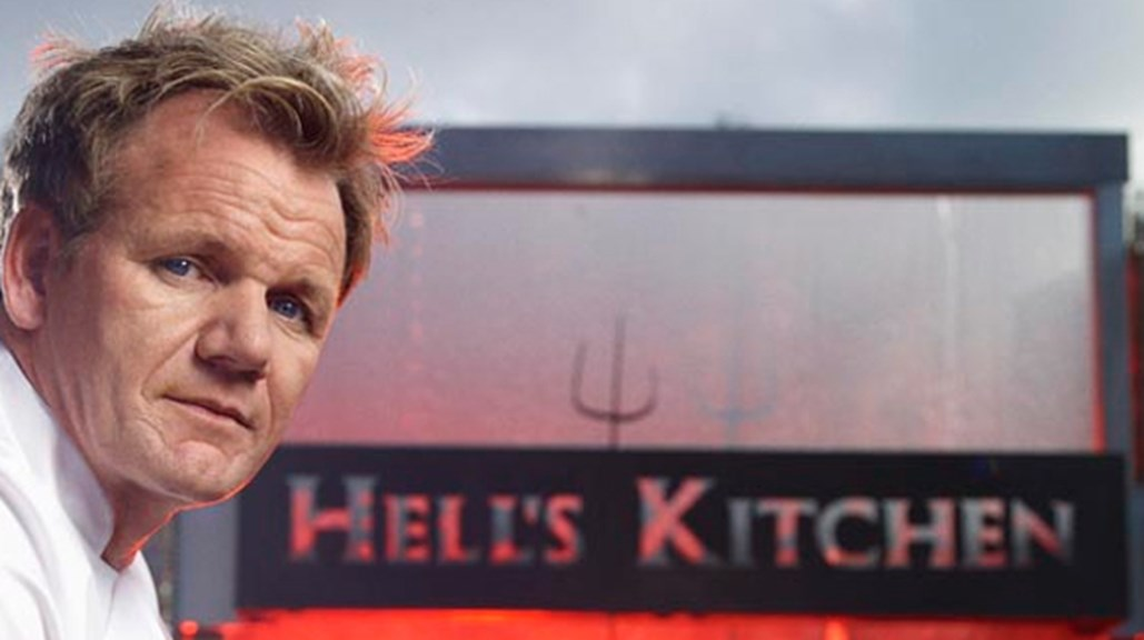 'Hell's Kitchen' Thrives on Gordon Ramsay's Passion, Skill of Production Team
