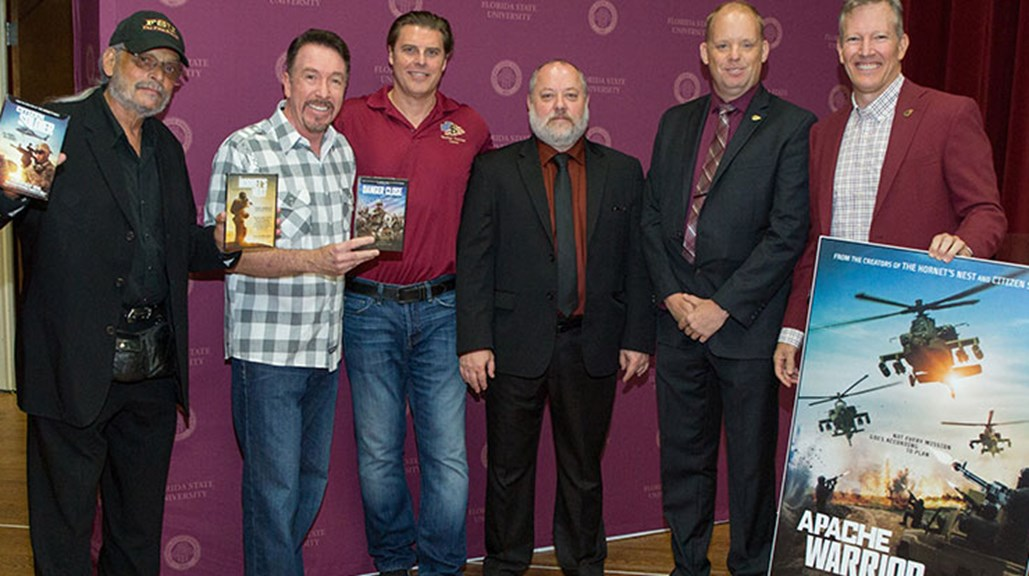 FSU Veterans Film Festival honors directors at world premiere of 'Apache Warrior'