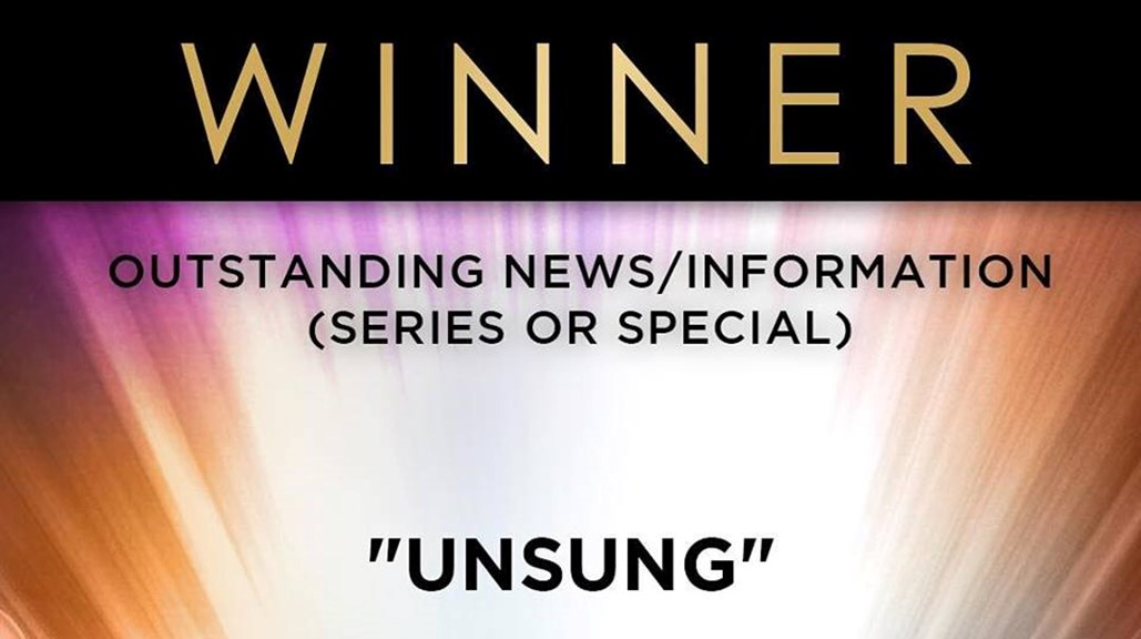 Unsung Wins its 6th NAACP Award