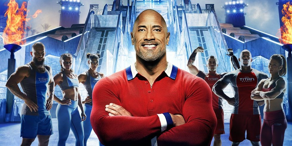 An Exclusive Look at the Crazy-Fit Competitors on The Titan Games, The Rock's New Fitness Show