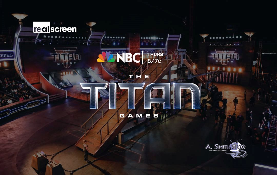 """Massive"" and ""emotional"" TV: Arthur Smith talks NBC's ""The Titan Games"""